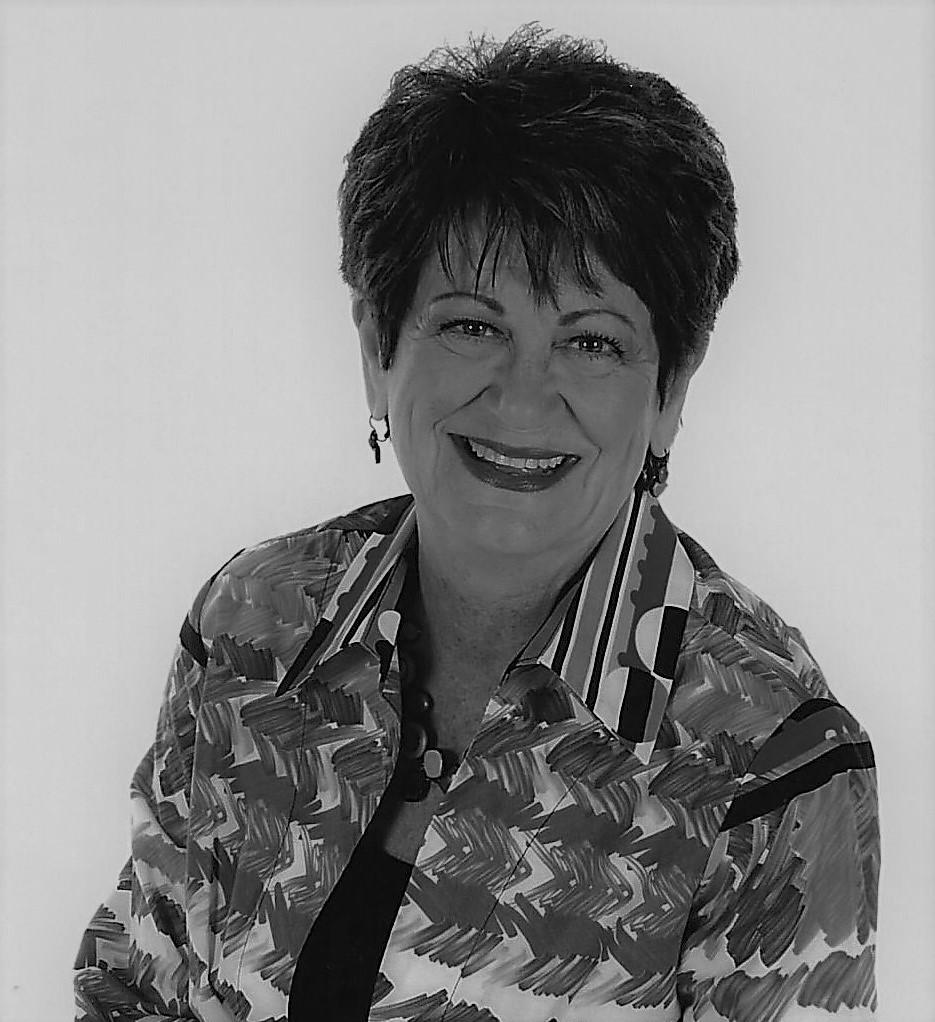 Joan C Webb Headshot B&W